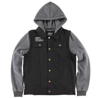 jacket men spring/fall METAL MULISHA - Reap - BLK