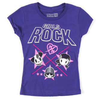 t-shirt street children's - GIRLS ROCK TRIKO - METAL MULISHA, METAL MULISHA