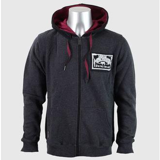 hoodie men's - SKULL CRACK - METAL MULISHA, METAL MULISHA