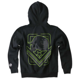 hoodie children's - TAG ZIP - METAL MULISHA - M346S22300.01_BLK