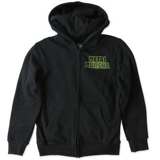hoodie children's - TAG ZIP - METAL MULISHA - M346S22300.01_BLK