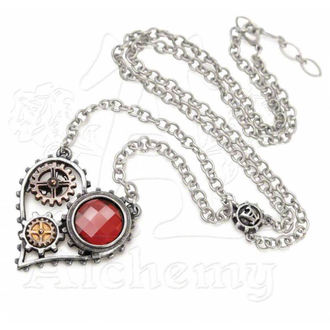 necklace ALCHEMY GOTHIC - Coeur du Moteur, ALCHEMY GOTHIC