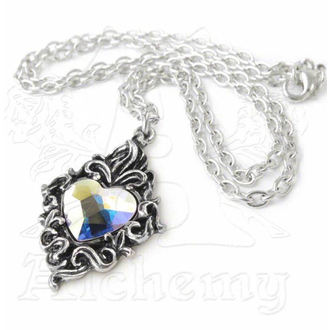necklace ALCHEMY GOTHIC - Crystal Heart - P711
