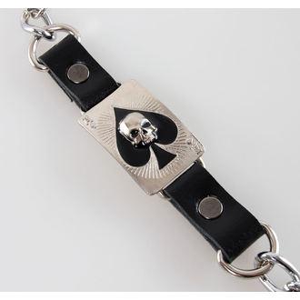 chain Ace Of Dead Spades - Silver
