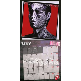 calendar 2015 ROLLING STONES, NNM, Rolling Stones
