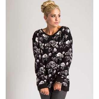 sweatshirt (no hood) women's - NEW DAWN FADES - METAL MULISHA - M44710405.01_MUL