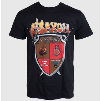 t-shirt metal men's Saxon - ANNIVERSARY - LIVE NATION, LIVE NATION, Saxon