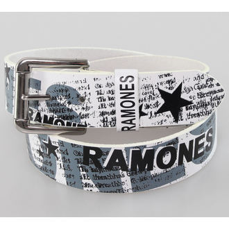 belt Ramones - White - BIOWORLD, BIOWORLD