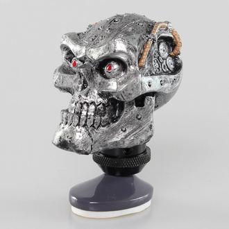 decoration (head gear lever) LETHAL THREAT - Cyborg Skull Shift Knob / Dash Topper, LETHAL THREAT