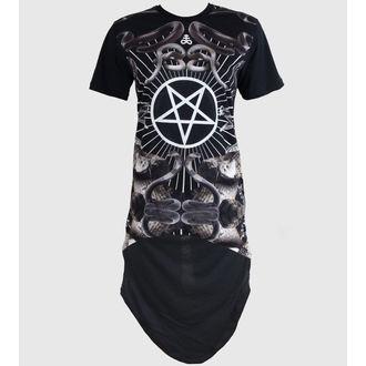 dress women (tunic) KILLSTAR - Serpentine - Black