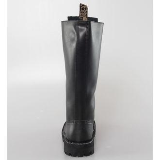 leather boots women's - STEEL - 139/140-Black