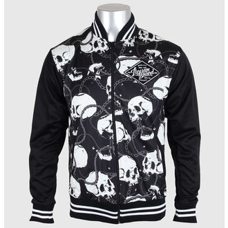 spring/fall jacket men's - Skull & Chains - LIQUOR BRAND, LIQUOR BRAND