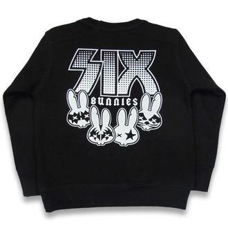 sweatshirt (no hood) children's - Rock Bunnies - SIX BUNNIES, SIX BUNNIES