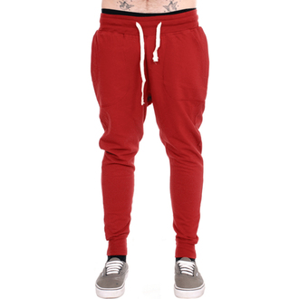 pants unisex (sweatpants) 3RDAND56th - Carrot Fit Jogger - Claret, 3RDAND56th