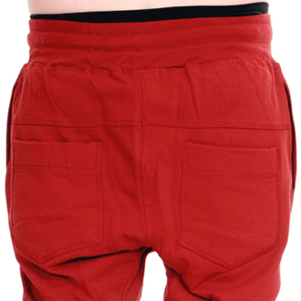 pants unisex (sweatpants) 3RDAND56th - Carrot Fit Jogger - Claret - JM1008