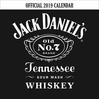 Calendar for year 2019 JACK DANIELS, JACK DANIELS