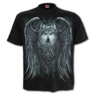 t-shirt men's - WOLF SPIRIT - SPIRAL - T167M101