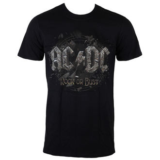 Metal T-Shirt men's AC-DC - Rock Or Bust - LIVE NATION - PE12102TSBPL