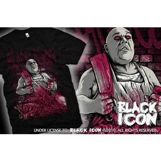 t-shirt hardcore men's - Black - BLACK ICON, BLACK ICON