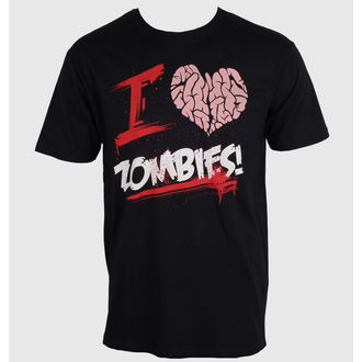 T-Shirt men's - I Love You Zombies - NNM - ZOMB-01