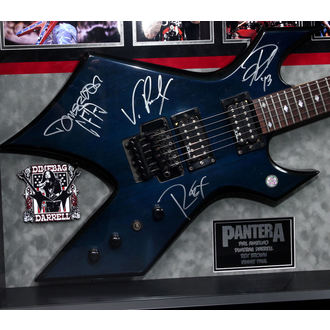 guitar with signature Pantera, ANTIQUITIES CALIFORNIA, Pantera