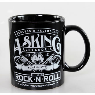 cup Asking Alexandria - Rock N Roll - ROCK OFF, ROCK OFF, Asking Alexandria