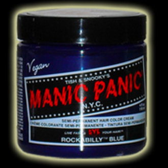 color to hair MANIC PANIC - Classic - Rockabilly Blue