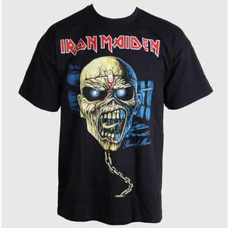 t-shirt metal men's Iron Maiden - Piece of Mind Skull - ROCK OFF - IMTEE36MB