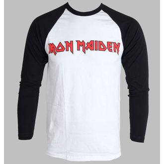 t-shirt metal men's Iron Maiden - Logo - ROCK OFF, ROCK OFF, Iron Maiden