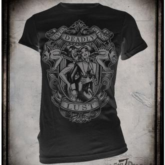 t-shirt hardcore women's - Lust - SE7EN DEADLY - SE008