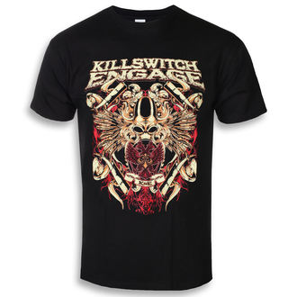 t-shirt metal men's Killswitch Engage - Bio War - ROCK OFF - KSETS04MB
