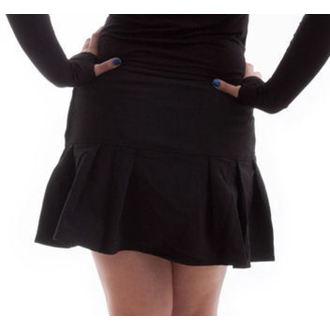 skirt women's NECESSARY EVIL - Safety - Black - MS902