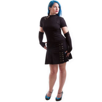 skirt women's NECESSARY EVIL - Safety - Black, MILISHA