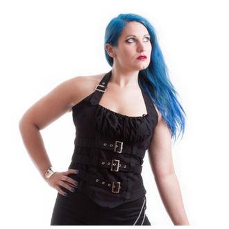 corset women's NECESSARY EVIL - Vesna - Black