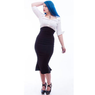 skirt women's NECESSARY EVIL - Lyssa High Waisted - Black, NECESSARY EVIL