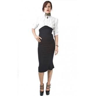skirt women's NECESSARY EVIL - Lyssa High Waisted - Black - N1128