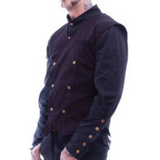 vest men's - Chronus Mens Steampunk - NECESSARY EVIL, NECESSARY EVIL