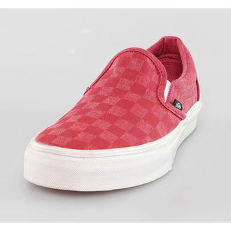low sneakers women's - Classic SLIP-ON (Overwashed) - VANS, VANS
