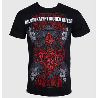 t-shirt metal men's Die Apokalyptische Reiter - Die Welt Ist Tief 2014 - MASSACRE RECORDS, MASSACRE RECORDS