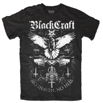 T-Shirt men's - Raven - BLACK CRAFT - MT091RN