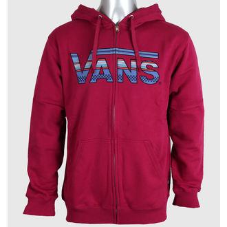 hoodie men's - CLASSIC ZIP - VANS - VJ6KFV4