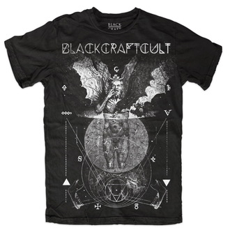 t-shirt men's - Cosmic - BLACK CRAFT - Black