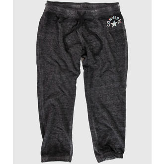 pants women (trackpants) CONVERSE - WASHED Triblend - Dark Gray - 09778C-003