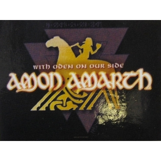 flag Amon Amarth - With Oden Your Side, HEART ROCK, Amon Amarth