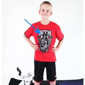 set boysh ( t-shirt, shorts) TV MANIA - Star Wars Clone - Red - Star 825, TV MANIA