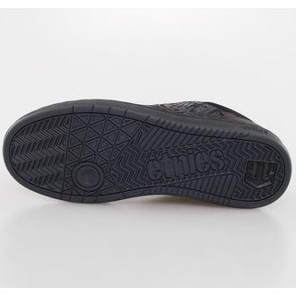 low sneakers men's - METAL MULISHA - Black/Red/G