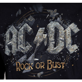hoodie men's AC-DC - Rock Or Bust - LIVE NATION, LIVE NATION, AC-DC