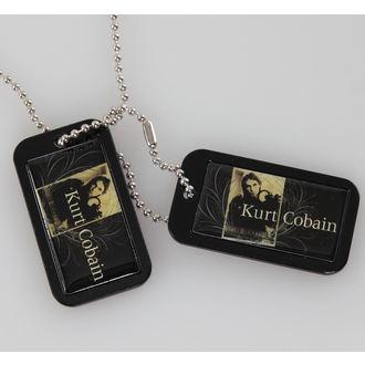 collar (dog tag) Kurt Cobain - Blue Crest - LIVE NATION, LIVE NATION, Nirvana