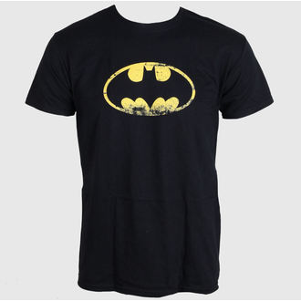 film t-shirt men's Batman - Distressed Logo - LIVE NATION, LIVE NATION