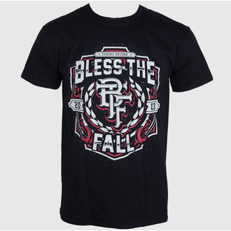 t-shirt metal men's Bless The Fall - Crest - LIVE NATION - PE11873TSBP
